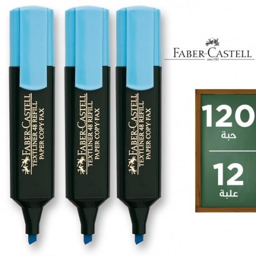 فابر كاستل – قلم إظهار أزرق (12 علبة × 10 أقلام) – منتجات الجملة