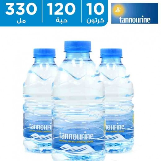 تنورين – مياه معدنية 330 مل (10 كرتونة × 12 حبة)  أسعار الجملة  - يتم التوصيل بواسطة توصيل الجملة خلال 8 ساعات