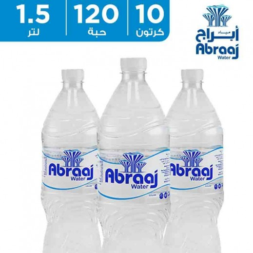أبراج – مياه شرب نقية 1.5 لتر (10 × 12) – أسعار الجملة