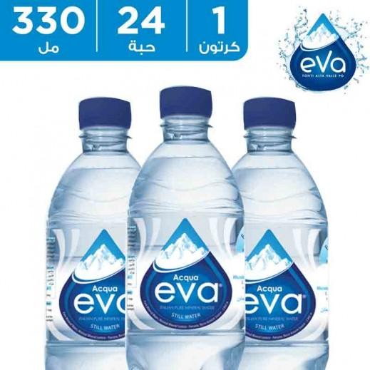 أكوا إيفا – مياه شرب معدنية 24 × 330 مل