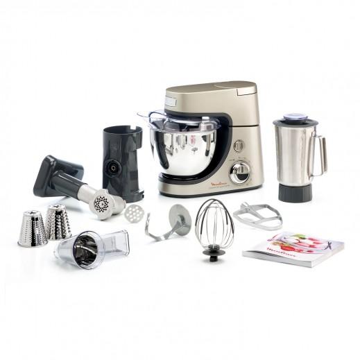 مولينكس – ماكينة المطبخ 1200 واط – فضي - يتم التوصيل بواسطة  AL-YOUSIFI  بعد 3 ايام عمل