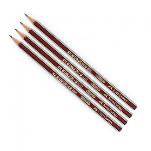 فابر كاستل – قلم رصاص بممحاة HB- عدد (12 علبة × 12 حبة) – منتجات الجملة