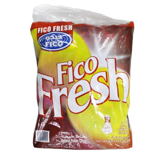 Fico Fresh Lightly Salted Chips 16 g (20 Pieces)