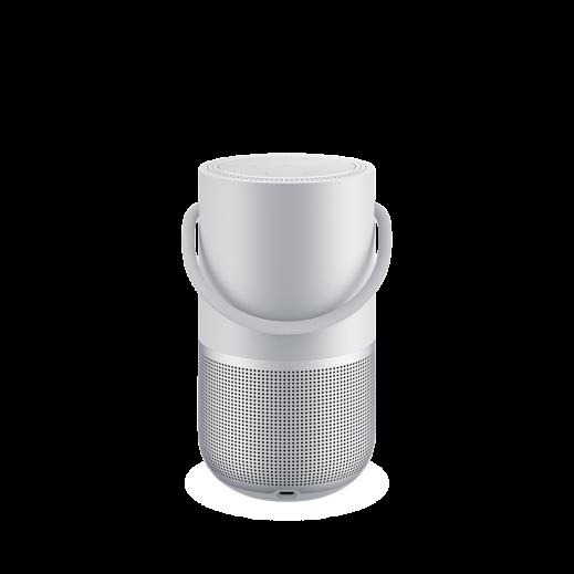 بوز - مكبر صوت ذكي متنقل - فضي - يتم التوصيل بواسطة aDawliah Electronics خلال يومين عمل
