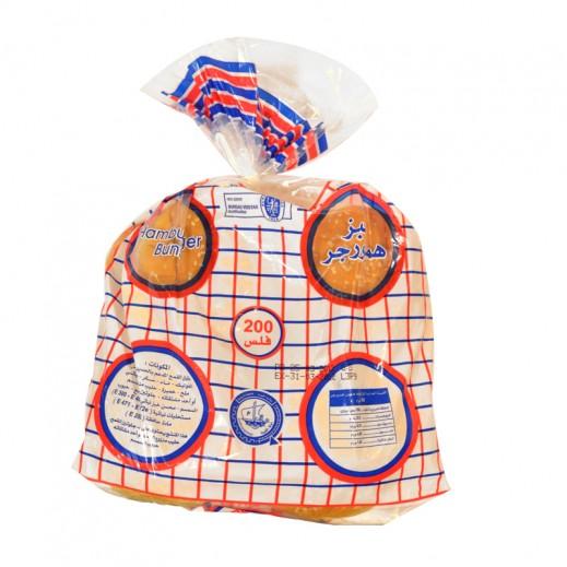 المطاحن - خبز برجر بالسمسم 8 رغيف ( 480 جم )