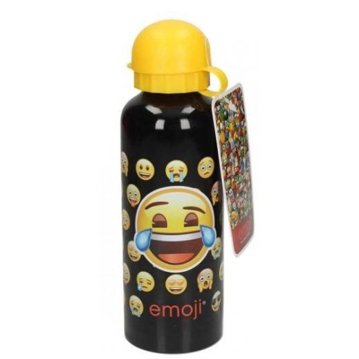 ايموجي - زجاجة مياه الومينيوم - أصفر