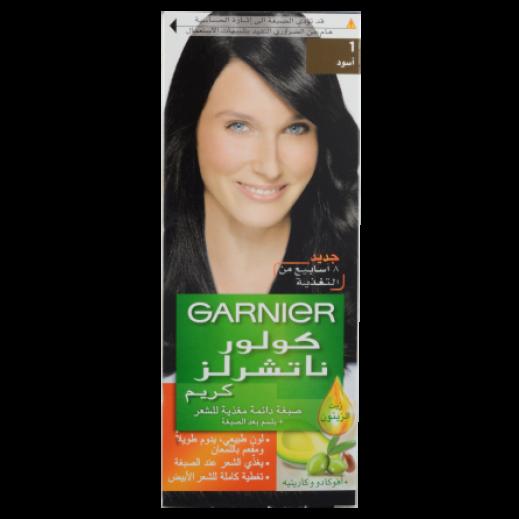 غارنييه – صبغة دائمة للشعر رقم 1 بلون أسود