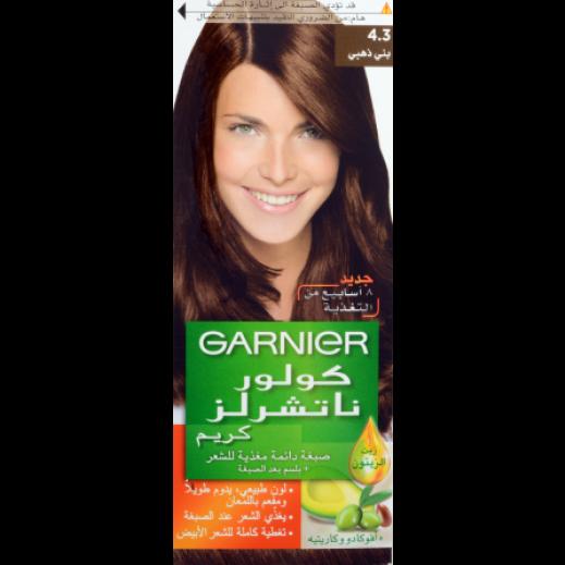 غارنييه – صبغة دائمة للشعر رقم 4.3 بلون بني ذهبي