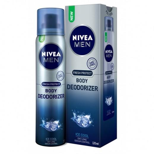 Nivea Men Protect & Fresh Body Deodorizer Cool 120 ml