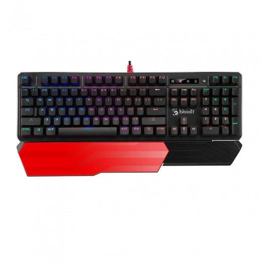 لوحة مفاتيح الألعاب الميكانيكية - أسود  - Bloody