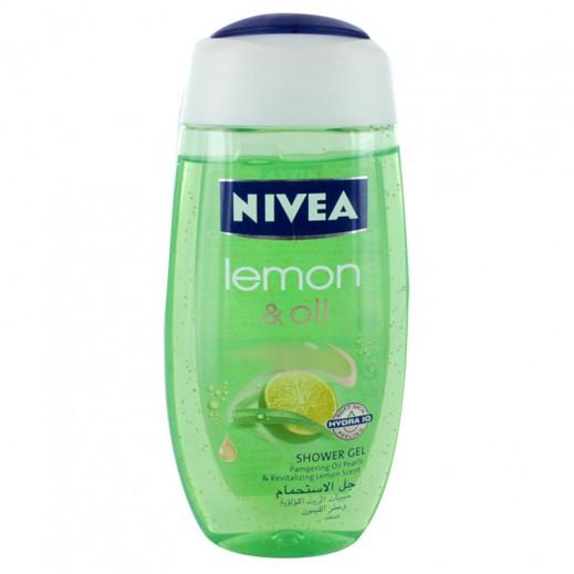 نيفيا – جل الإستحمام ليمون أند أويل 250 مل
