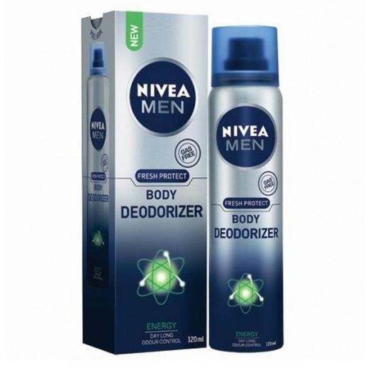 Nivea Men Fresh Clean Body Deodorizer Energy 120 ml