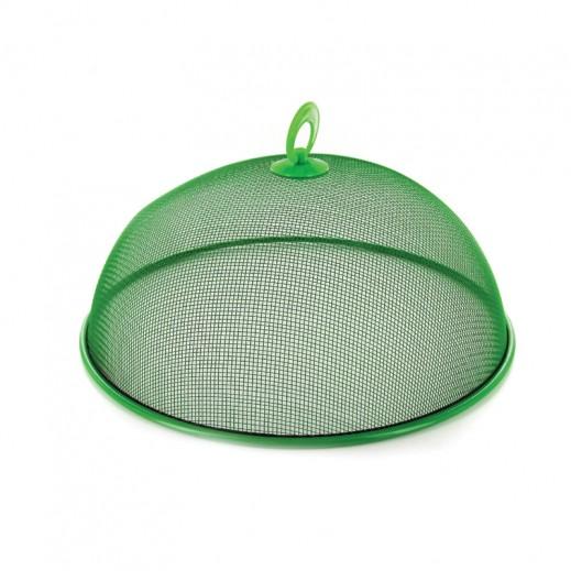 غطاء معدني شبكي لحفظ الأطعمة من الحشرات 60 سم – أخضر