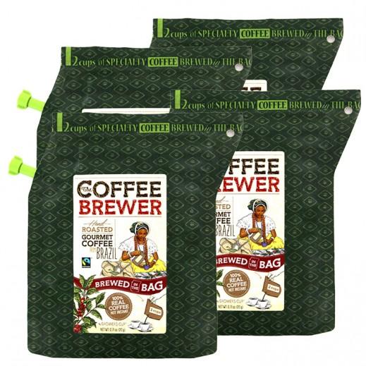 كافي برور - قهوة برازيلية فاخرة محمصة 20 جرام (4 حبة) - عرض التوفير