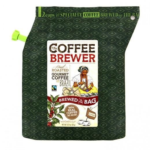 كافي برور - قهوة برازيلية فاخرة محمصة 20 جرام