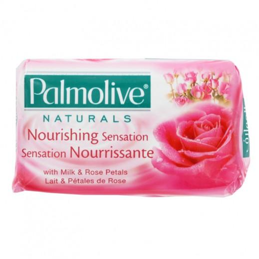 بالموليڤ – صابون بخلاصة الحليب وبتلات الورد 125 جم