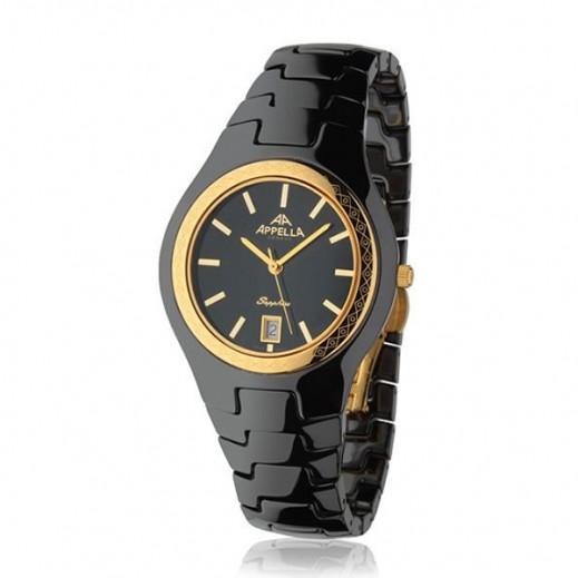 أبيلا – ساعة يد سويسرية للرجال بهيكل من السيراميك (AP-4057.9.0.004)