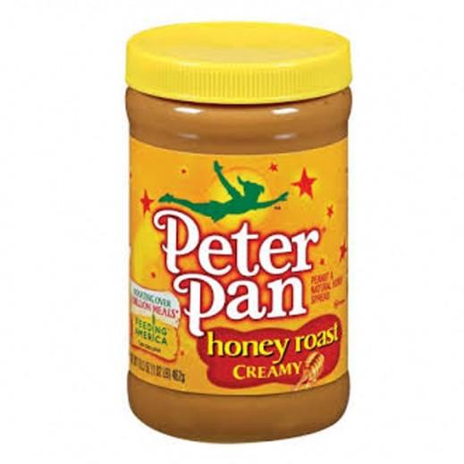 بيتر بان - كريمة زبدة الفول السوداني والعسل 16.3 أوقية