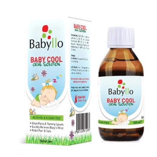 بيبي لو– بيبي كول محلول فموي مُخفّف لآلام البطن والغازات 100 مل