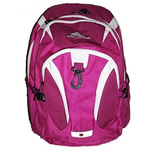 """هاي سييرا – حقيبة ظهر """"بيتل"""" للأغراض المدرسية – أرجواني"""