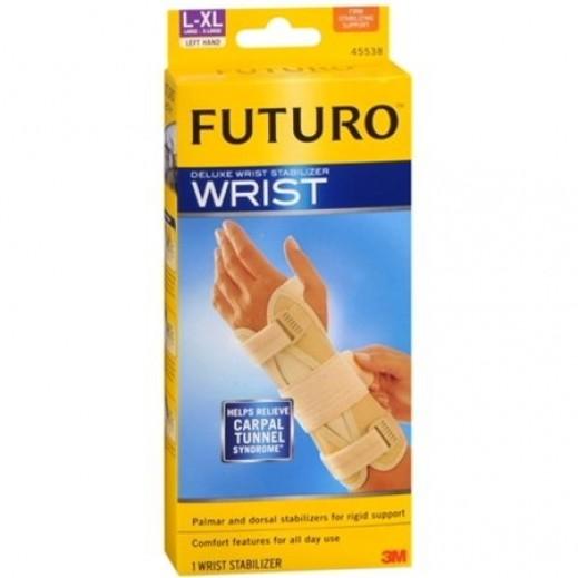 فوتورو - مشد لتثبيت معصم اليد اليسرى - حجم كبير / كبير جداً