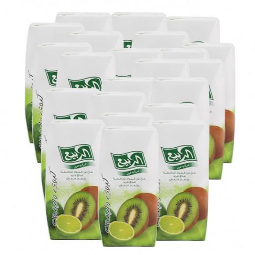 الربيع - عصير كيوي بالليمون 200 مل (54 حبة) - أسعار الجملة