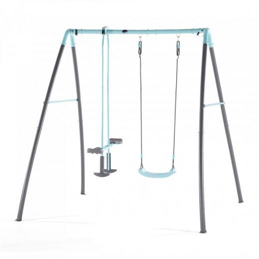 بلوم - أرجوحة معدنية منفردة ولعبة توازن مع ميزة رش الماء - يتم التوصيل بواسطة يونيفيرسال تويز خلال 2 أيام عمل