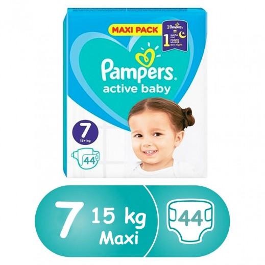 بامبرز - حفاضات أطفال المرحلة 6 (+15 كجم ) 44 حفاضة