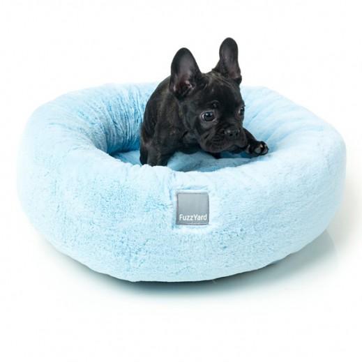 فاز يارد - سرير إسكيمو للكلاب - أزرق (60×60×16 سم)