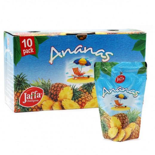 چافا – شراب عصير بنكهة الأناناس 10×200 مل