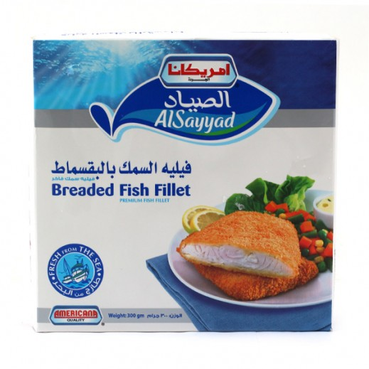 United Fisheries Of Kuwait Breaded Fish Fillet 350g