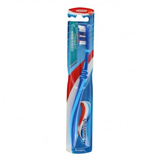 """أكوافريش – فرشاة أسنان """"Clean & Reach"""" - متوسطة"""