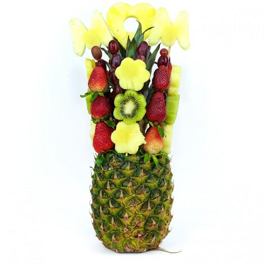 باقة الفواكه الطازجة  - يتم التوصيل بواسطة Fruit Art
