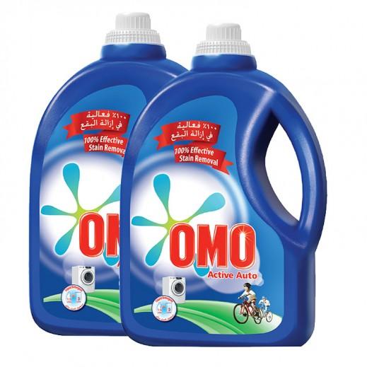 """أومو - سائل الغسيل """"""""Auto Fabric للغسالات الأوتوماتيك 1.5 لتر (2 حبة) – أسعار الجملة"""