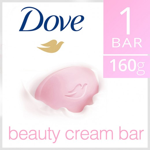 دوف - صابون كريم الجمال الزهري 160 جم