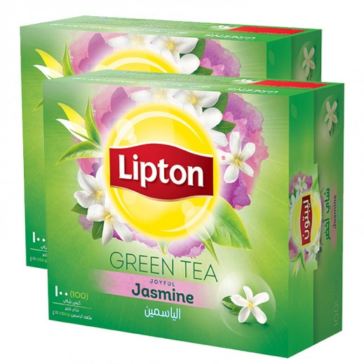 ليبتون – شاي أخضر بالياسمين 100 كيس (2 حبة) - أسعار الجملة