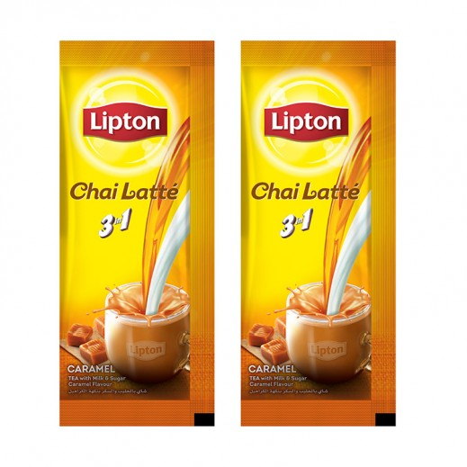 ليبتون – شاي لاتي كراميل 18 كيس (2 حبة) - أسعار الجملة