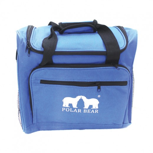 بولار بير – حقيبة قابلة للطي لحفظ درجة حرارة الأطعمة – أزرق