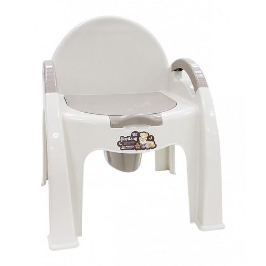 كرسي صيني بلاستيكي محمول بمرحاض لموسم التخييم