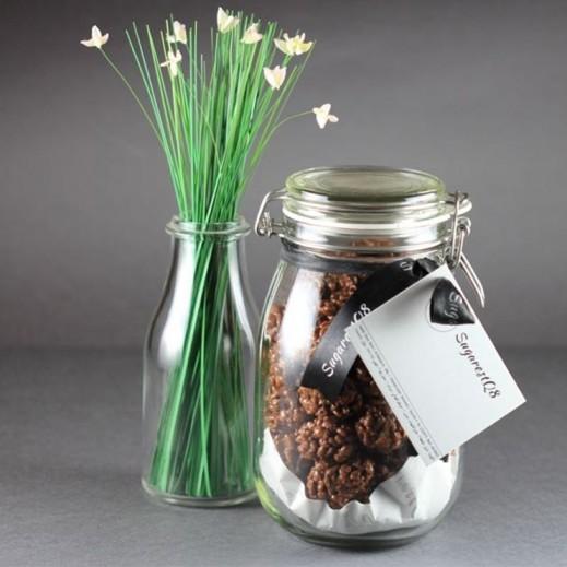 كرات الشوكولاته المقرمشة 55 حبة  - يتم التوصيل بواسطة SugarestQ8 Chocolate