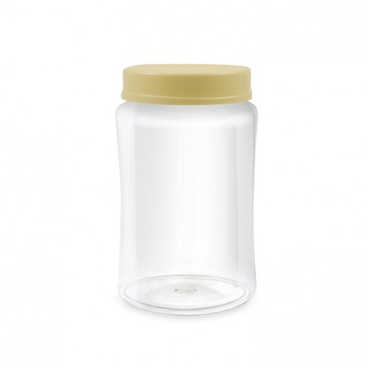 هاميلتون - وعاء Crisp N شفاف بغطاء 1 لتر