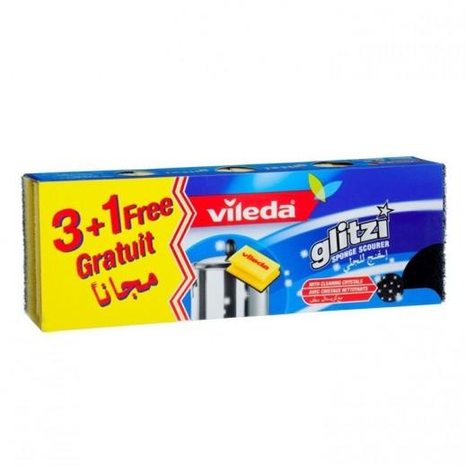 فيليدا – إسفنج للجلي مع كريستال منظف (3+1 مجاناً)