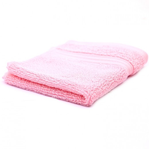 كانون رويال مناشف حمام وردي 1 قطعة مقاس 33×33 سم