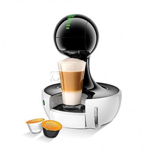 نسكافيه دولتشي جوستو - ماكينة تحضير القهوة موديل (Drop) – أبيض