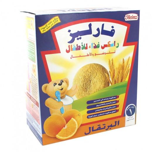 فارليز – راسكس غذاء بطعم البرتقال للأطفال والرضع 300 جم