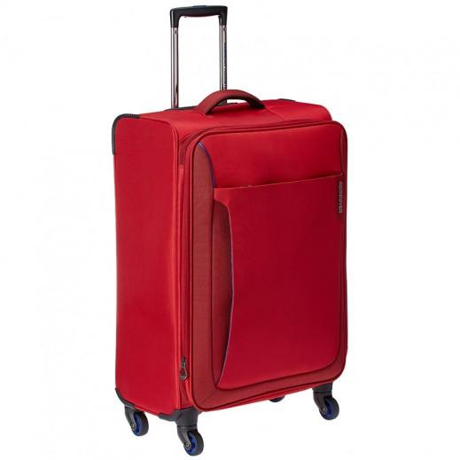 "أميريكان تورستر – حقيبة سفر ""أبلايت"" 55 سم  – أحمر مع أزرق"