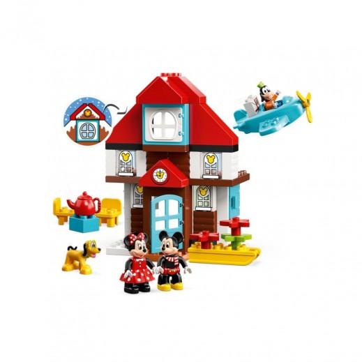 ليغو دوبلو لعبة منزل إجازة ميكي