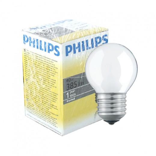 فيليبس – مصباح بلوري لامع E27 – بقوة 40 واط