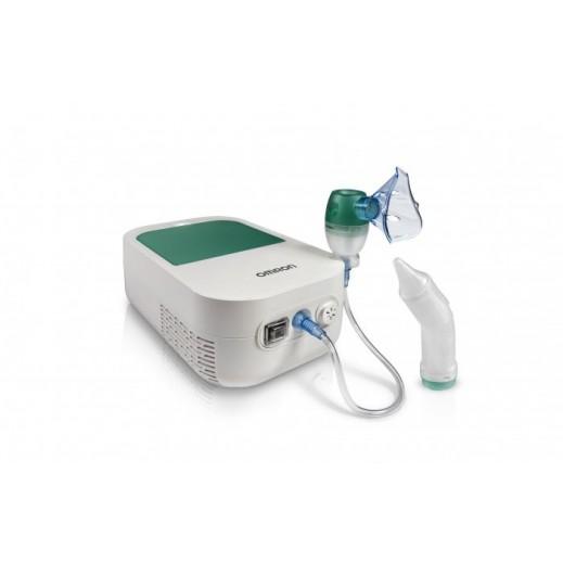 أومرون - كمام 2×1 لعلاج مشكلات التنفس ومضخة الأنف للأطفال
