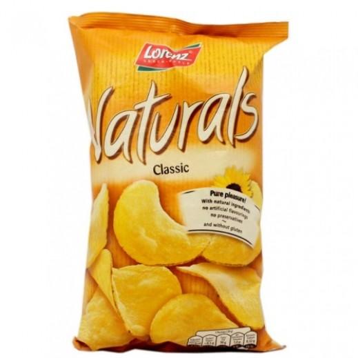 لورينز - رقائق بطاطا طبيعية خالية من الغلوتين بنكهة الملح 100 جم